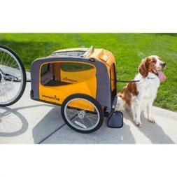 rascal bike pet trailer orange