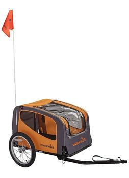 rascal dog bike trailer w safety flag