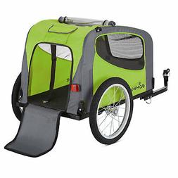 Schwinn Rascal Plus Foldable Bike Trailer for Pets, 16-Inch