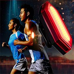 Red,Bicycle Light, Ikevan COB LED Bicycle Bike Cycling Rear