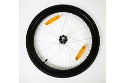 "Burley Replacement Wheel: 20"", Alloy, Push Button Axle"