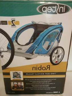 InStep Robin 2-Seat Bicycle Trailer, Blue NEW IN BOX!