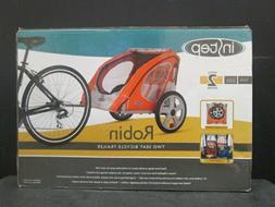 "InStep Robin 2-Seater Kids Bicycle Trailer - Orange - 32.48"""