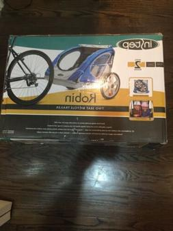 InStep Robin 2-Seater Trailer Blue Bike Bicycle NEW