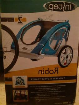 Instep Robin Two Seat Bike Trailer NEW 2 sweater kids bike t