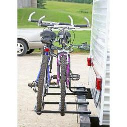 RV Bumper Bike Rack Camper Trailer 2 Bicycle Carrier Steel B