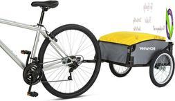 Schwinn Day Tripper Cargo Bike Trailer, Folding Frame, Quick