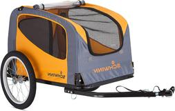 Schwinn Rascal Bike Pet Trailer, For Small and Large Dogs