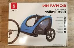 Schwinn Shuttle Bike Trailer For Kids - Blue/Black Brand New