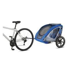 Schwinn Shuttle foldable bike trailer, 2 passengers- Kids Pe