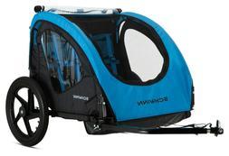 Schwinn Shuttle Foldable Bike Trailer for Kids - 2 Passenger