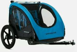 Schwinn Shuttle Foldable Bike Trailer  blue