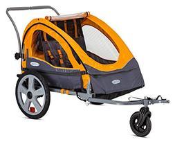 InSTEP™ Sierra Double Bike Trailer - Orange