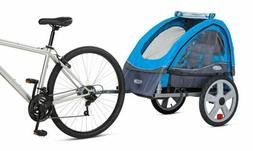 InStep Single Seat Double Seat Foldable Tow Behind Bike Trai