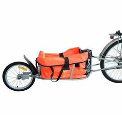 Single Wheel Bicycle Bike Cargo luggage Trailer Cart Carrier