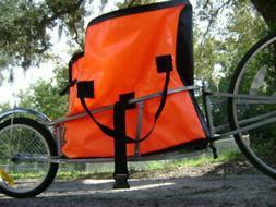 Single Wheel Bicycle Bike Cargo Trailer & Water Resist Bag