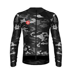 Uglyfrog Men's Soft Long Sleeve Breathable Bicycle Cycling J