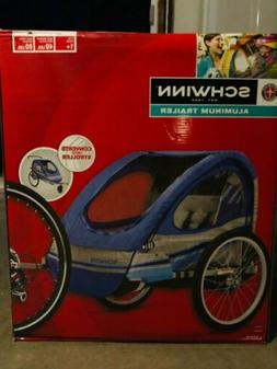 SCHWINN SPIRIT BIKE/BICYCLE TWIN/DOUBLE/2 CHILD ALUMINUM TRA