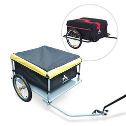 steel frame bicycle bike cargo trailer luggage