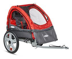 sync single bicycle trailer