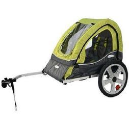 InStep Sync Single Child Bike Trailer - Green/Grey