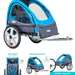 InStep Sync Single Trailer, Blue