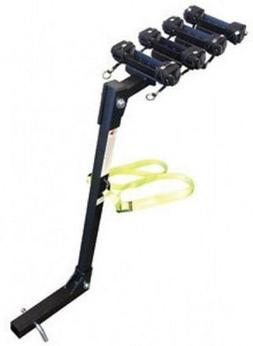 4 Bike Trailer Hitch Mounted Carrier Rack Bicycle Mount Quad