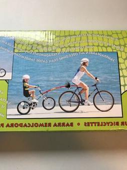 trailer tow bar black new bicycle original