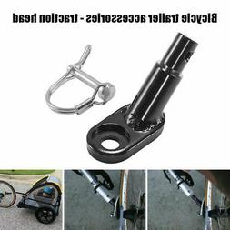 Trailers Bicycle Coupler Angled Elbow Attachment Hitch For I