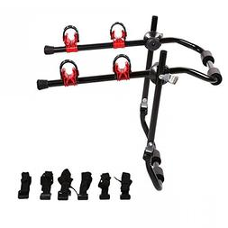 New 2-Bike Trunk Mount Rack Bicycle Rack Trunk Hitch Bike Ca