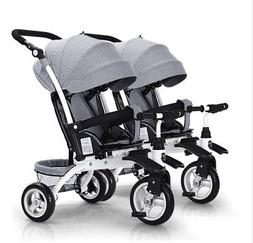 twins baby side by side Tricycle <font><b>bike</b></font> st