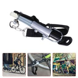 Universal Bicycle Bike Trailer Coupler Attachment Hitch Stee