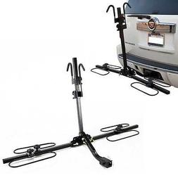 Giantex Upright Heavy Duty 2 Bike Bicycle Hitch Mount Carrie