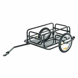 Aosom Wanderer Bicycle Bike Cargo Trailer Utility Luggage Ca