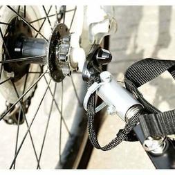 Aosom Wanderer Cargo Bike Trailer Black