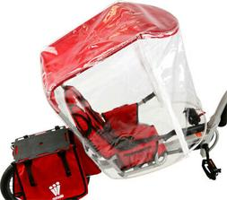 Weehoo All Weather Canopy Red, One Size