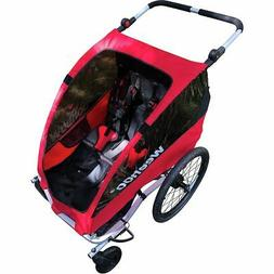 weego plus bicycle trailer and jogger