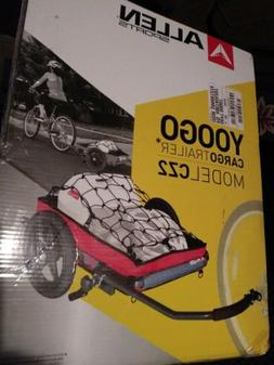 yoogo cz2 bicycle cargo trailer and cart